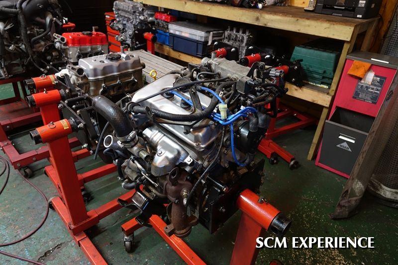 ジムニーエンジンオーバーホール F6A K6A