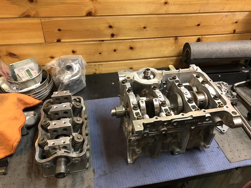 ジムニー エンジンオーバーホール リビルトエンジン F6A