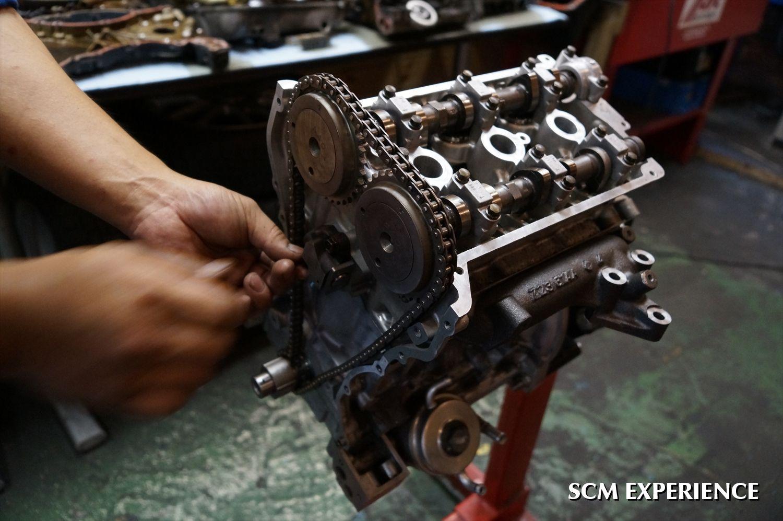 ジムニー JA22 K6A F6A オーバーホール エンジンオーバーホール ヘッドガスケット抜け リビルトエンジン ジムニー専門店